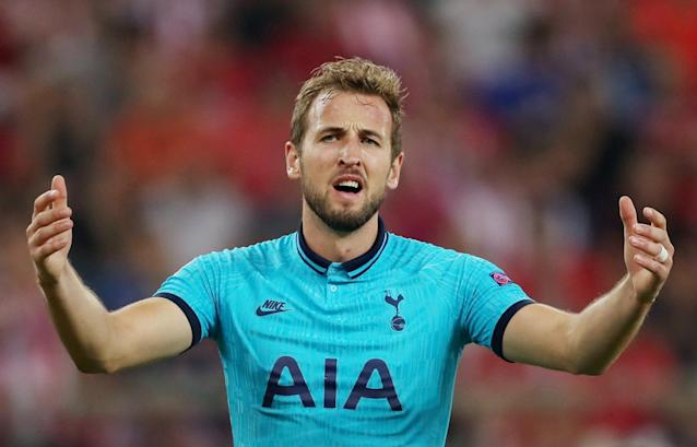 Harry Kane and Tottenham Hotspur had a mostly frustrating evening in Athens on Wednesday. (Reuters/Alkis Konstantinidis)