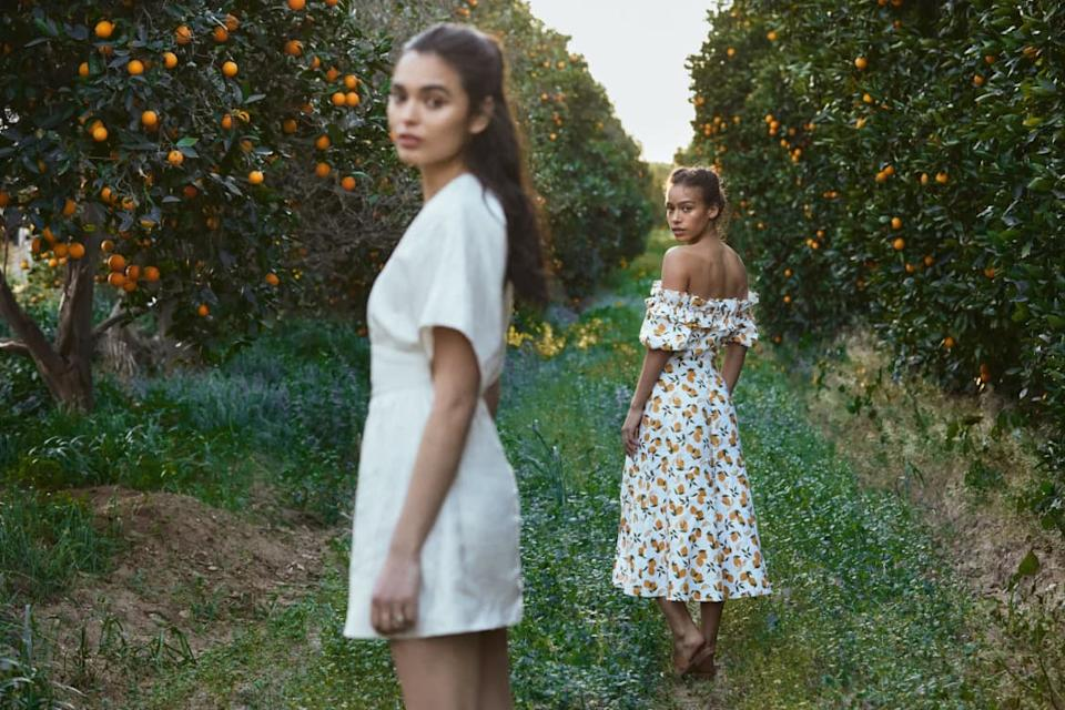 Reformation's Summer Sale is on now. Image via Reformation.