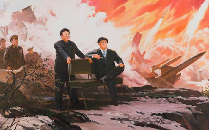Pak Yong-chol's The Missiles (1994-2004), part of a new exhibition in Bern - Sigg Collection/Kunstmuseum Bern/The Artist
