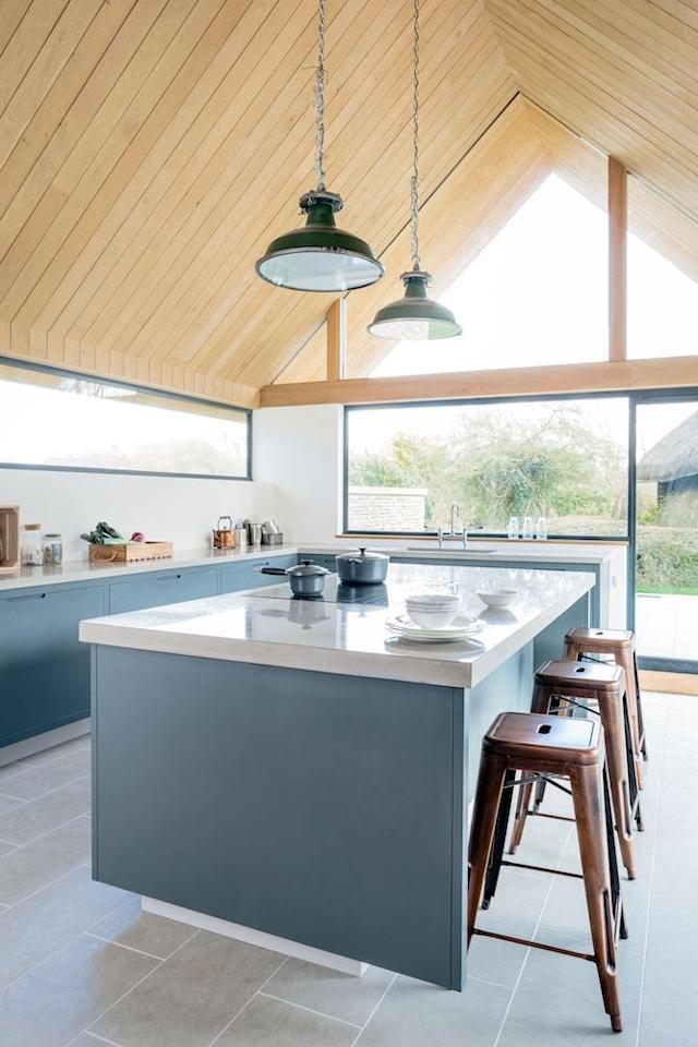 "<p>The discussion around sustainability in the home has certainly picked up momentum in recent years. Loved by Houzz readers, this kitchen from <a href=""https://sustainablekitchens.co.uk/"" target=""_blank"">Sustainable Kitchens</a> proves that planet-friendly materials don't have to skrimp on style. </p><p><strong>READ MORE</strong>: <a href=""https://www.housebeautiful.com/uk/decorate/kitchen/g26858260/dark-colour-kitchen-ideas/"" target=""_blank"">20 stunning dark kitchen ideas</a></p>"
