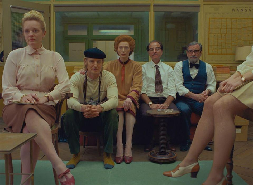 The French Dispatch de Wes Anderson - Copyright The Walt Disney Company France