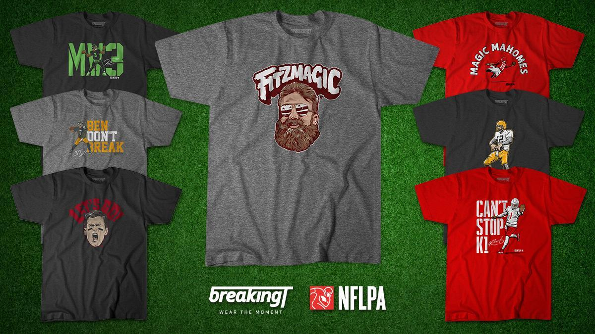 Find the Fitzmagic tee and other unique apparel at BreakingT. (Photo by BreakingT)