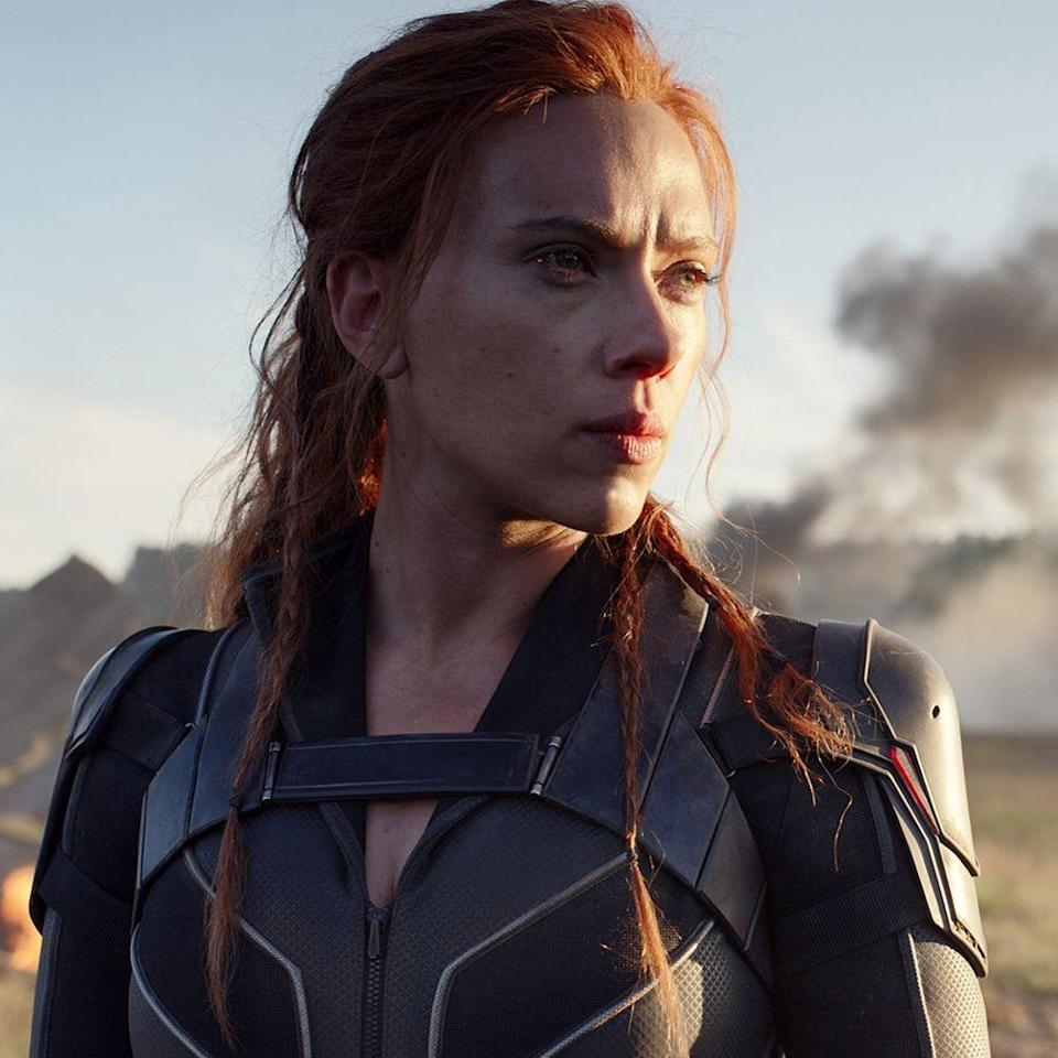 """<p>Directed by indie auteur Cate Shortland (<em>Somersault, Berlin Syndrome</em>), <em>Black Widow </em>stars Scarlett Johansson as the titular Marvel character, real name: Natasha Romanoff. <em>Little Women</em>'s <a href=""""https://www.harpersbazaar.com/culture/film-tv/a30519055/black-widow-trailer/"""" rel=""""nofollow noopener"""" target=""""_blank"""" data-ylk=""""slk:Florence Pugh"""" class=""""link rapid-noclick-resp"""">Florence Pugh</a> costars, with the film's narrative falling between the <em>Civil War</em> and <em>Infinity War</em> chapters. Johansson will have to wait a little bit longer to make her sole Marvel debut, however, as the tentpole film in the Disney juggernaut has pulled its premiere due to the current pandemic. There was talk, though, by costar David Harbour of <em>Stranger Things</em> fame—and <a href=""""https://www.forbes.com/sites/scottmendelson/2020/03/31/sending-black-widow-and-mulan-to-vod-is-a-terrible-horrible-no-good-very-bad-idea/#3293655b4cdd"""" rel=""""nofollow noopener"""" target=""""_blank"""" data-ylk=""""slk:much criticism"""" class=""""link rapid-noclick-resp"""">much criticism</a>—to send the film straight to video on demand.</p><p><strong>Original release date:</strong> May 1</p><p><strong>Now set for:</strong> <a href=""""https://variety.com/2020/film/box-office/disney-mulan-black-widow-release-dates-coronavirus-1203550173/"""" rel=""""nofollow noopener"""" target=""""_blank"""" data-ylk=""""slk:November 6"""" class=""""link rapid-noclick-resp"""">November 6</a></p>"""