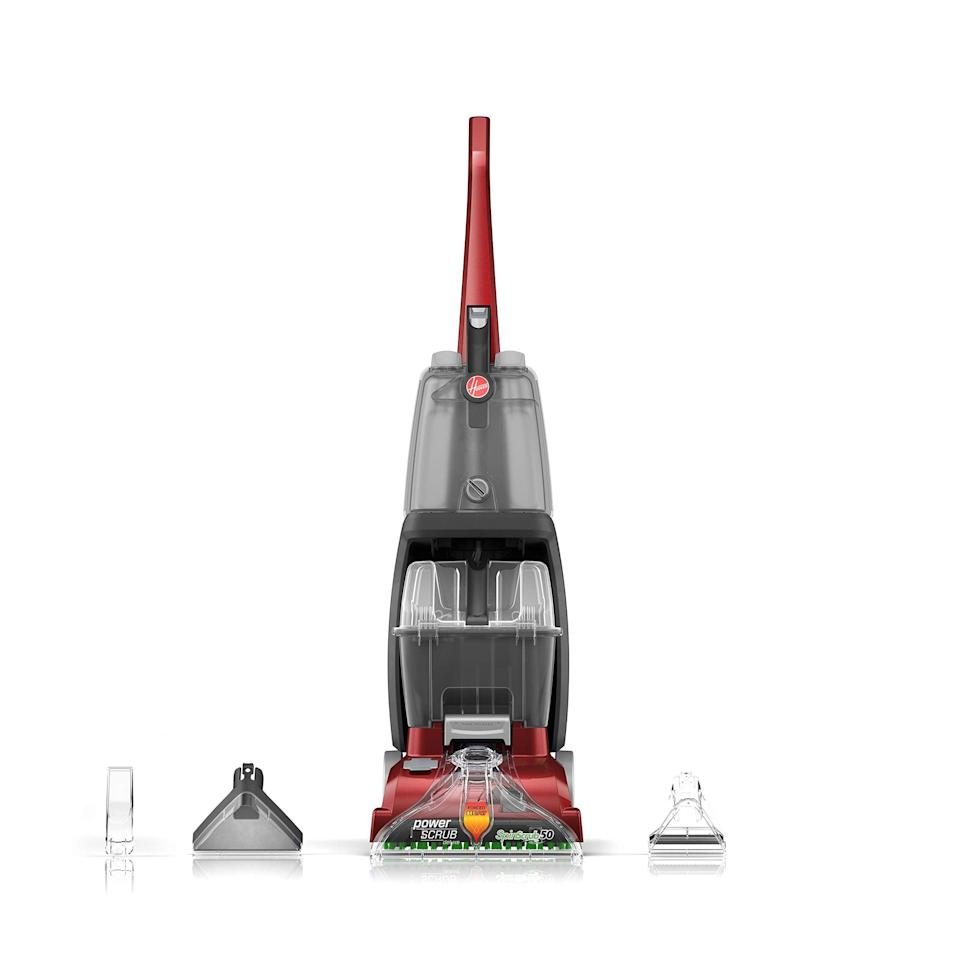 """<br><br><strong>Hoover</strong> Power Scrub Deluxe Carpet Cleaner Machine, $, available at <a href=""""https://amzn.to/3gsBbey"""" rel=""""nofollow noopener"""" target=""""_blank"""" data-ylk=""""slk:Amazon"""" class=""""link rapid-noclick-resp"""">Amazon</a>"""