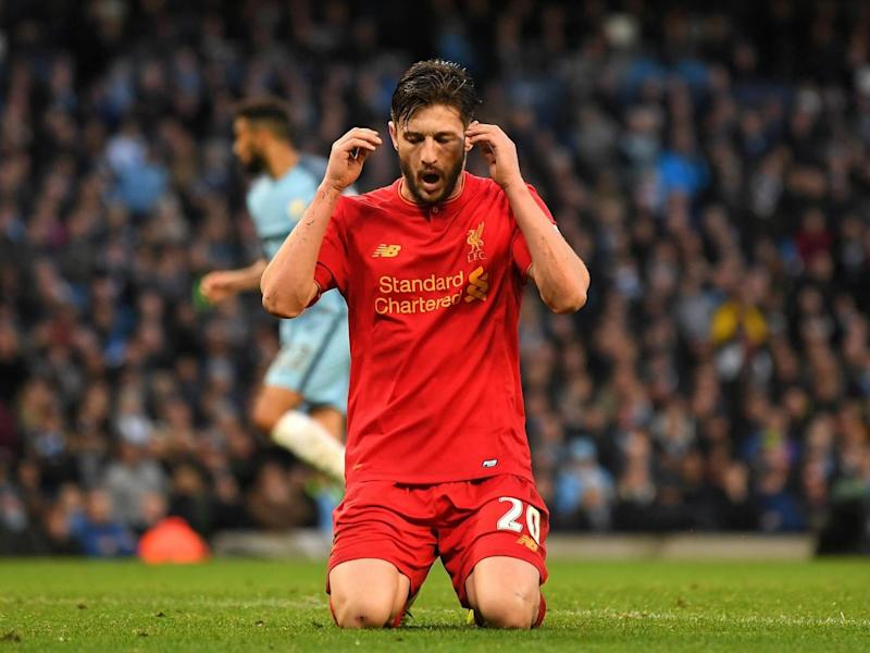 Lallana has been recovering from a thigh strain (Getty Images)