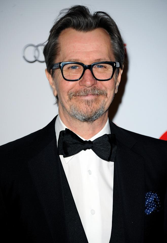 LONDON, ENGLAND - FEBRUARY 02: Gary Oldman attends the London Critics' Circle Film Awards at The Mayfair Hotel on February 2, 2014 in London, England. (Photo by Anthony Harvey/Getty Images)