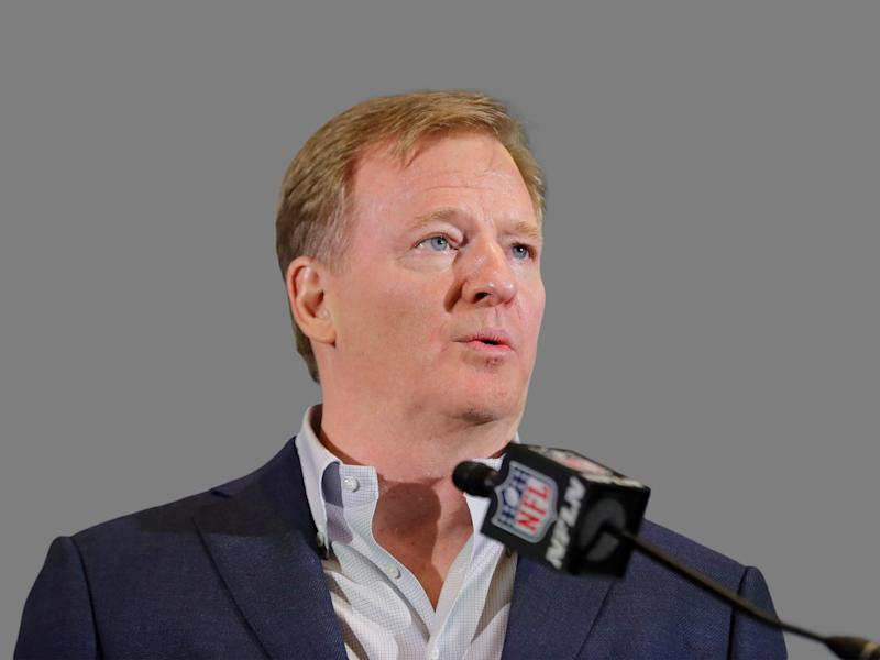 Roger Goodell has been commissioner of the NFL since 2006. (AP)