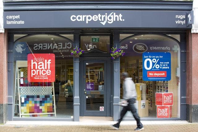 Carpetright to be sold