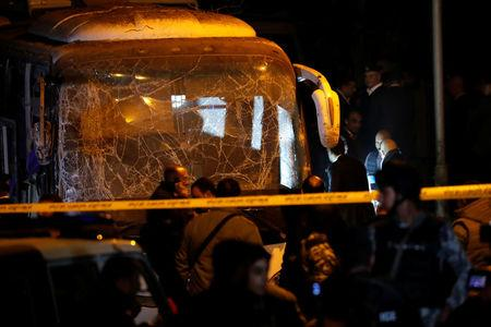 Deadly blast hits tourist bus in Giza, Egypt