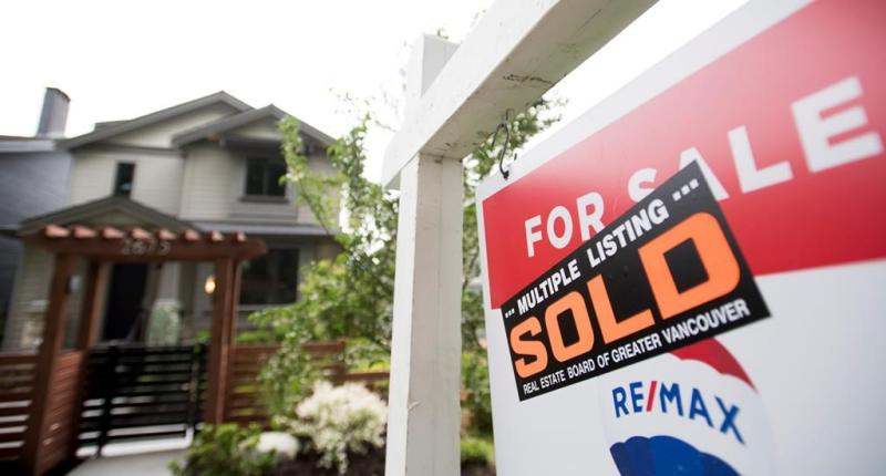 Canadian Real Estate Association says home sales hit record high in July