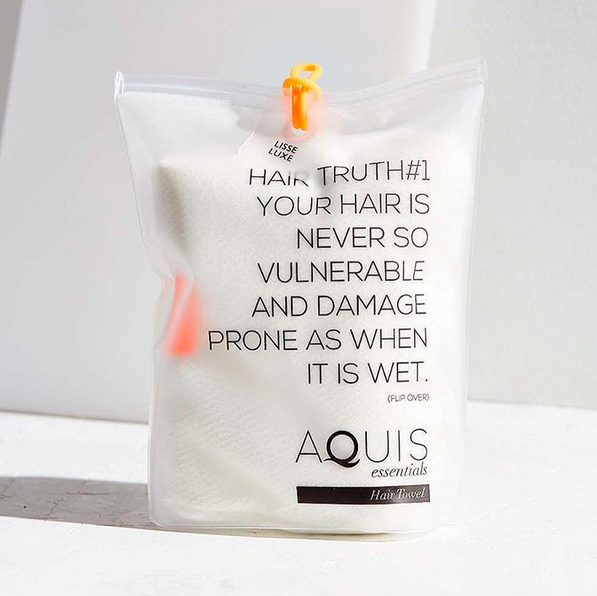 aquis hair towel washing instructions
