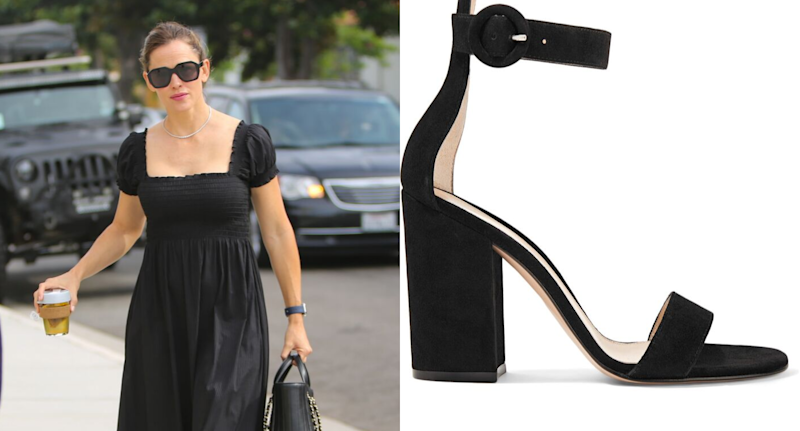 Jen Garner stepped out in these pricey heels — here's how to get the look for less.