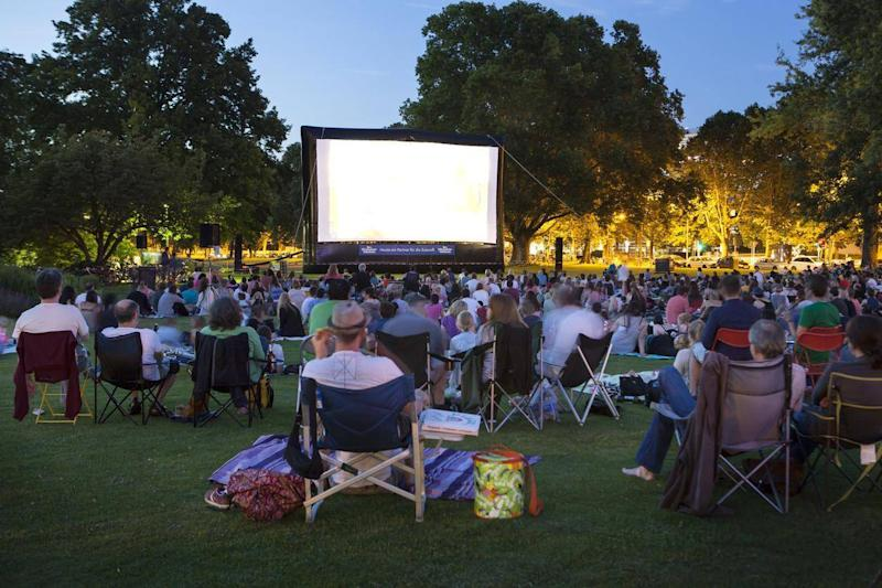 Watch some of your favourite films under the stars this bank holiday (Getty Images)