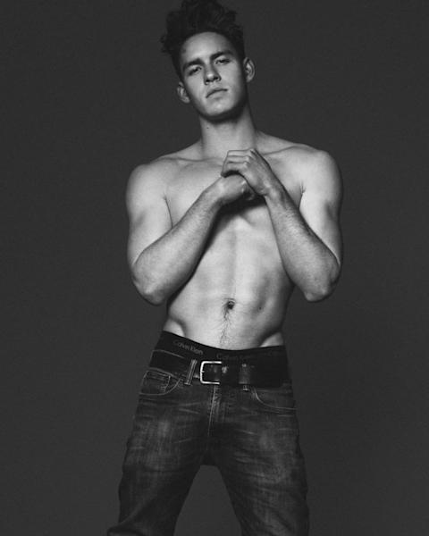 Tyler Clinton, nephew of Bill and Hillary Clinton, is now a legit male model. The 18 year-old is now signed to big-time agency IMG.
