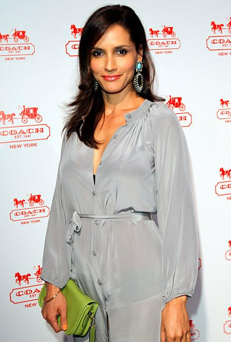 Dallas Star Leonor Varela Pregnant With First Child