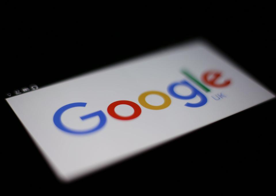 <p>Larry Page and Sergey Brin co-founded  the search engine</p> (PA)