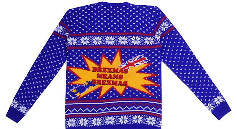 The pop culture Christmas jumpers are back. [Photo: NotJustClothing]