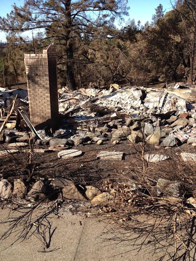 The remains of Martin Ananias' home after the Tubbs Fire. (Photo courtesy of Martin Ananias)