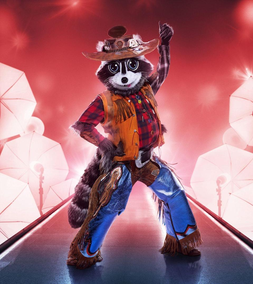 "<p><strong>Top Guesses:</strong> Brian Johnson</p><p><strong>Clues: </strong></p><p>1) Raccoon alludes to spending time in a jail cell.</p><p>2) Raccoon is known for ""being sharp.""</p><p>3) Raccoon said, ""Sometimes, to get the happy ending, you have to go through hell first.""</p><p><em>Read the internet's theories about Raccoon <a href=""https://www.goodhousekeeping.com/life/entertainment/a35726480/who-is-raccoon-on-the-masked-singer/"" rel=""nofollow noopener"" target=""_blank"" data-ylk=""slk:here"" class=""link rapid-noclick-resp"">here</a>.</em></p>"