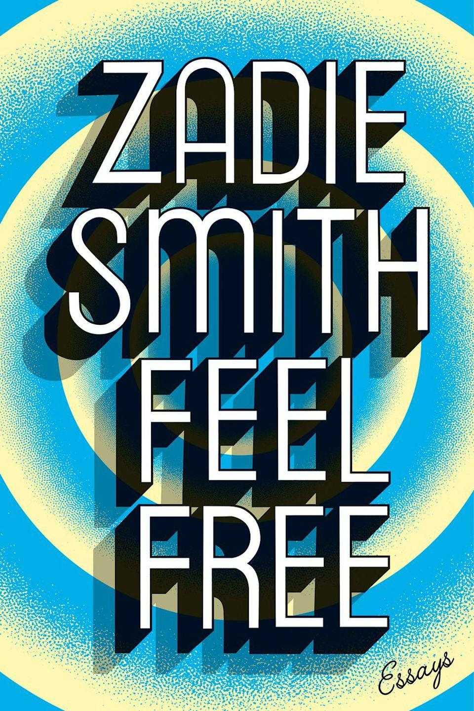 "<p>$17</p><p><a href=""https://www.amazon.com/Feel-Free-Essays-Zadie-Smith/dp/1594206252/"" rel=""nofollow noopener"" target=""_blank"" data-ylk=""slk:BUY NOW"" class=""link rapid-noclick-resp"">BUY NOW</a></p><p>In this entertaining essay compilation, best-selling author Zadie Smith takes readers inside her curious mind as she explores all facets of culture - from Brexit to Beyoncé - all with her signature wit and wisdom. </p>"