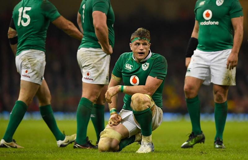 Heaslip was injured in the warm up (Getty Images)