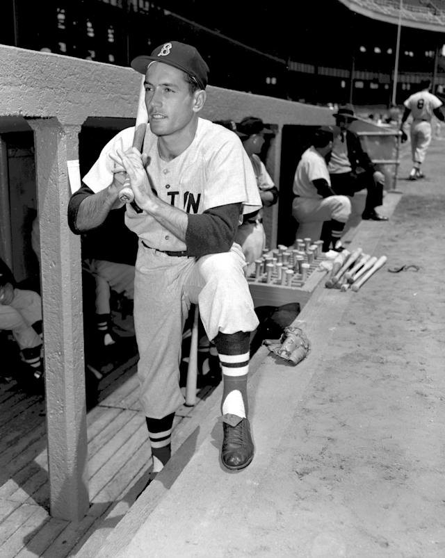 <p>Jimmy Piersall (1929-2017): 17-year Major Leaguer, mostly with the Boston Red Sox. </p>