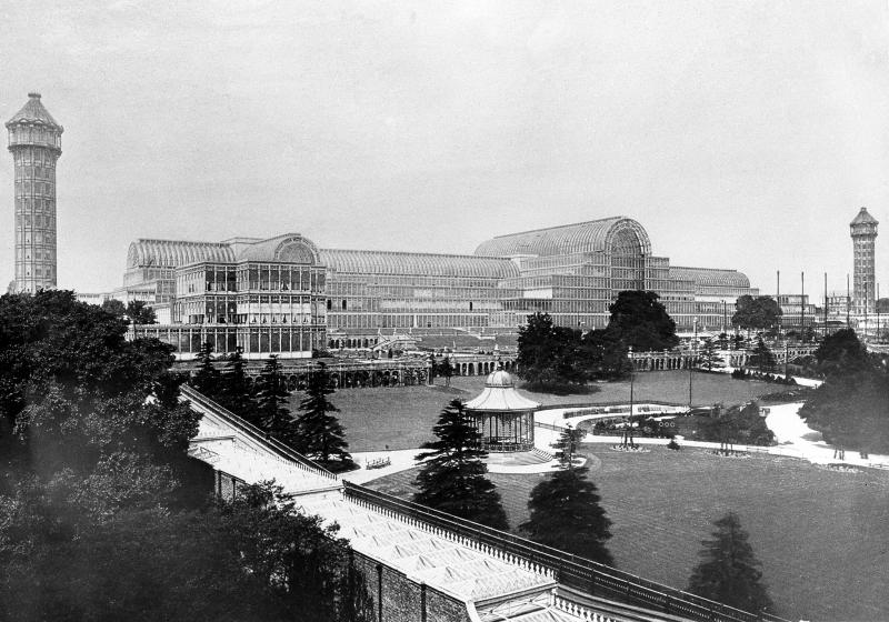 Replica plans unveiled for UK's Crystal Palace