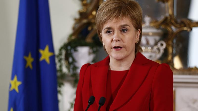 Sturgeon Sends Letter to May Demanding Scottish Independence Vote