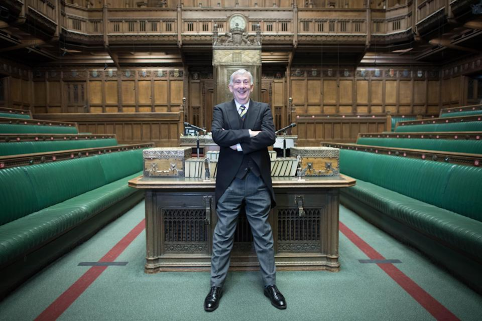 House of Commons debating chamber 70th anniversary (PA Archive)