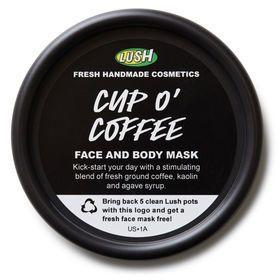 "<strong><a href=""https://www.lushusa.com/face/masks/cup-o-coffee/9999905552.html"" target=""_blank"">Lush Cup O' Coffee Face And Body Mask</a>, $11.95</strong>"