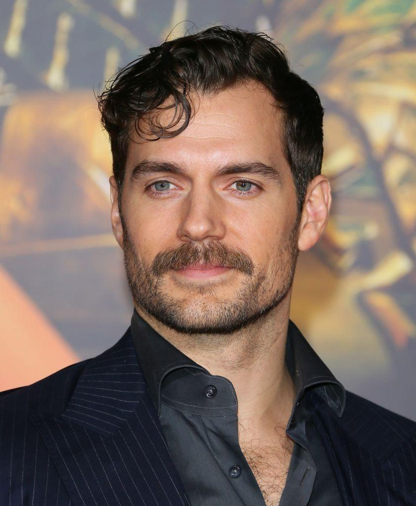 <p><strong>Henry Cavill </strong></p><p>Also known as the beginner's mustache, this style is halfway between a beard and a full-blown mustache. And it looks great! It's all about playing with length, so as your entire beard grows out gradually trim it shorter and shorter while leaving the upper lip alone. Eventually the mustache will start to pop out and you'll be able to play with how prominent the mustache is depending on how long you keep the rest of your facial hair.</p>