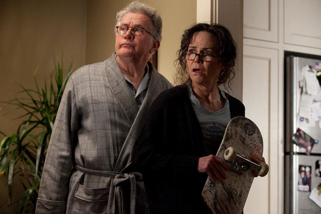 """Martin Sheen and Sally Field in Columbia Pictures' """"<a href=""""http://movies.yahoo.com/movie/the-amazing-spiderman/"""">The Amazing Spider-Man</a>"""" - 2012"""