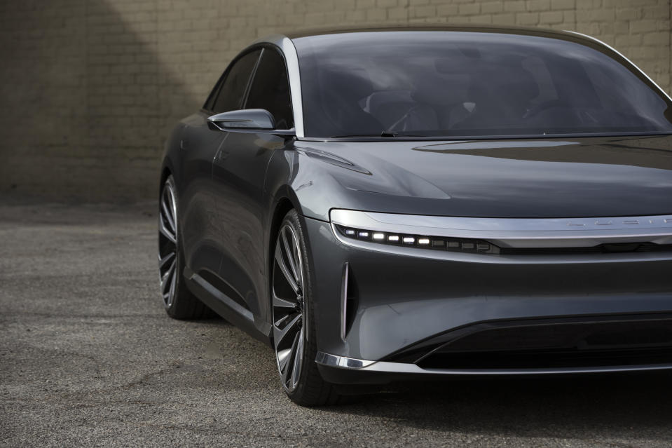 Luxury EV Maker Lucid Motors Goes Public