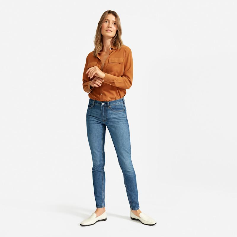 If you only buy one pair of jeans this year, let it be these. (Photo: Everlane)