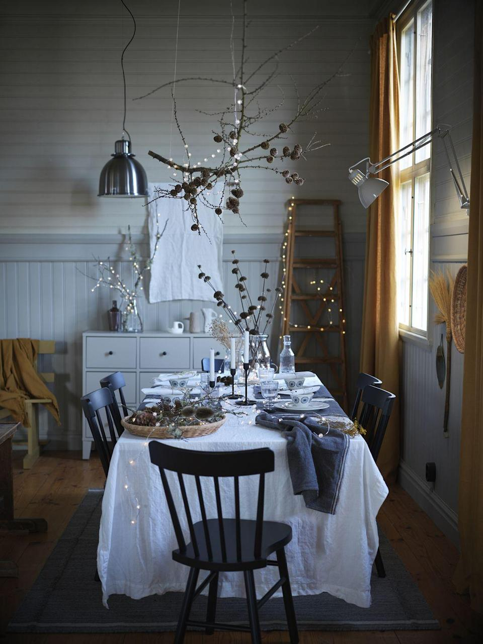 <p>Shop the Mys and Festivities collection and you'll find gorgeous candlesticks, serving bowls, and an extendable table perfect for festive entertaining. </p>