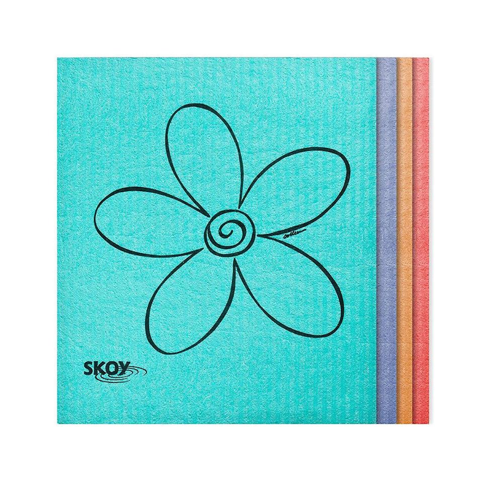 Skoy Eco-friendly Cleaning Cloths. (Photo: Amazon)