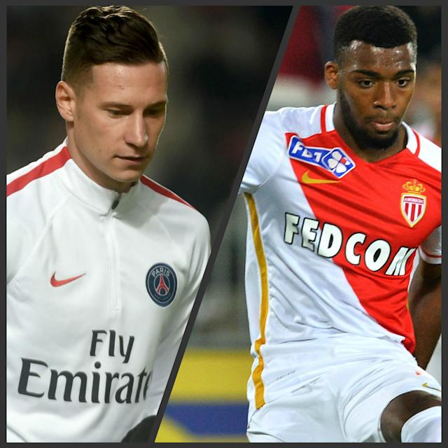 Julian Draxler vs Thomas Lemar FR
