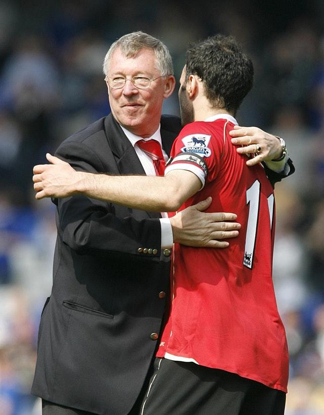 Ryan Giggs was a key member of Sir Alex Ferguson's all-conquering Manchester United team (Peter Byrne/PA)
