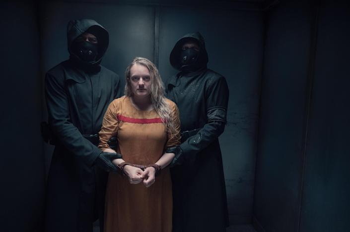 """""""The Handmaid's Tale"""" got 21 Emmy Award nominations including best drama and lead actress(Elizabeth Moss, who won the award in 2017)."""
