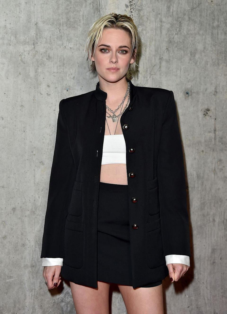 <p>It's safe to say that, today, Stewart seems much more at ease with herself. She chopped off her signature long brown hair, bleached it, started taking on more roles in indie films, and came out as bisexual. Her style is more edgy and grown-up as well. </p>