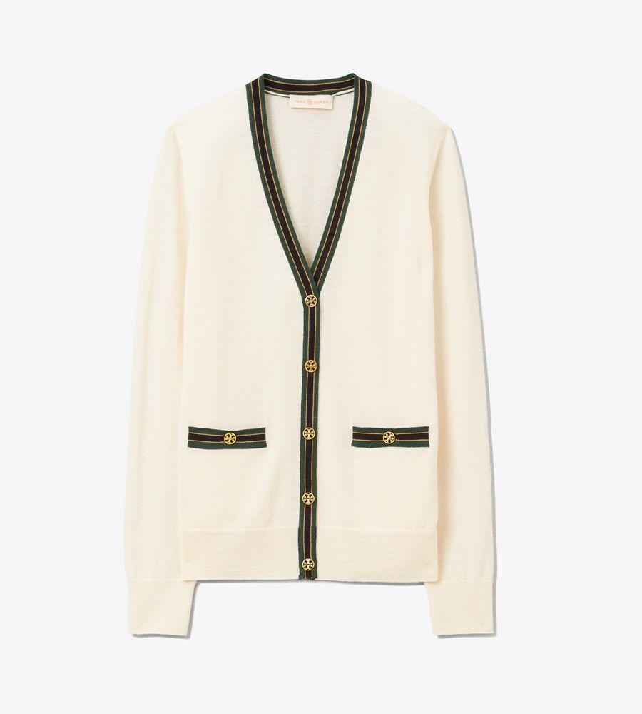 "<p>toryburch.com</p><p><a href=""https://go.redirectingat.com?id=74968X1596630&url=https%3A%2F%2Fwww.toryburch.com%2Fmadeline-contrast-trim-cardigan%2F57330.html&sref=https%3A%2F%2Fwww.townandcountrymag.com%2Fstyle%2Ffashion-trends%2Fg34096697%2Ftory-burch-sale-september-2020%2F"" rel=""nofollow noopener"" target=""_blank"" data-ylk=""slk:Shop Now"" class=""link rapid-noclick-resp"">Shop Now</a></p><p>$184.02</p><p><em>Original Price: $248</em></p>"