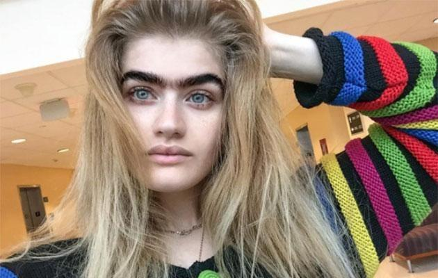 Sophia's brows certainly are bold! Source: Instagram