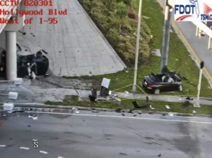 2 killed in Hollywood I-95 crash after driver loses control of ramp, soldiers say