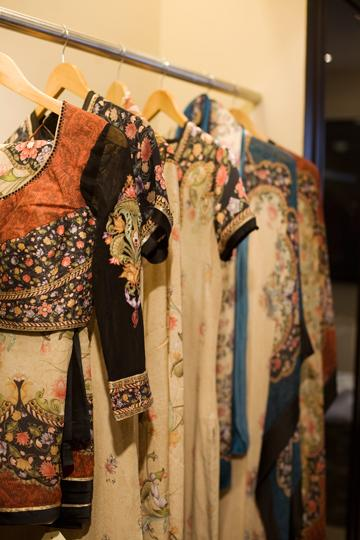 Couture on display at Tarun Tahiliani's new Defence Colony store