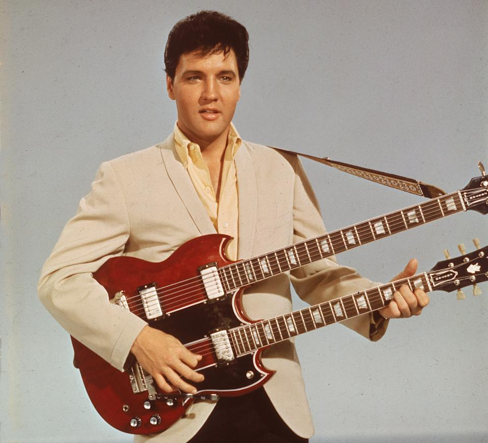Elvis Presley photographed in 1955Getty Images