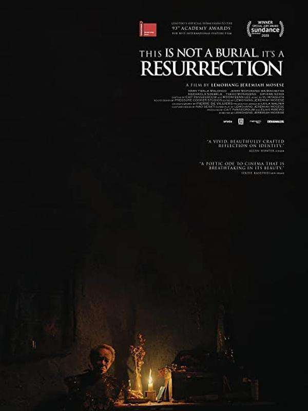 Poster filmThis Is Not A Burial, It's A Ressurection. (Foto: Dok. Memento Films/ IMDb)
