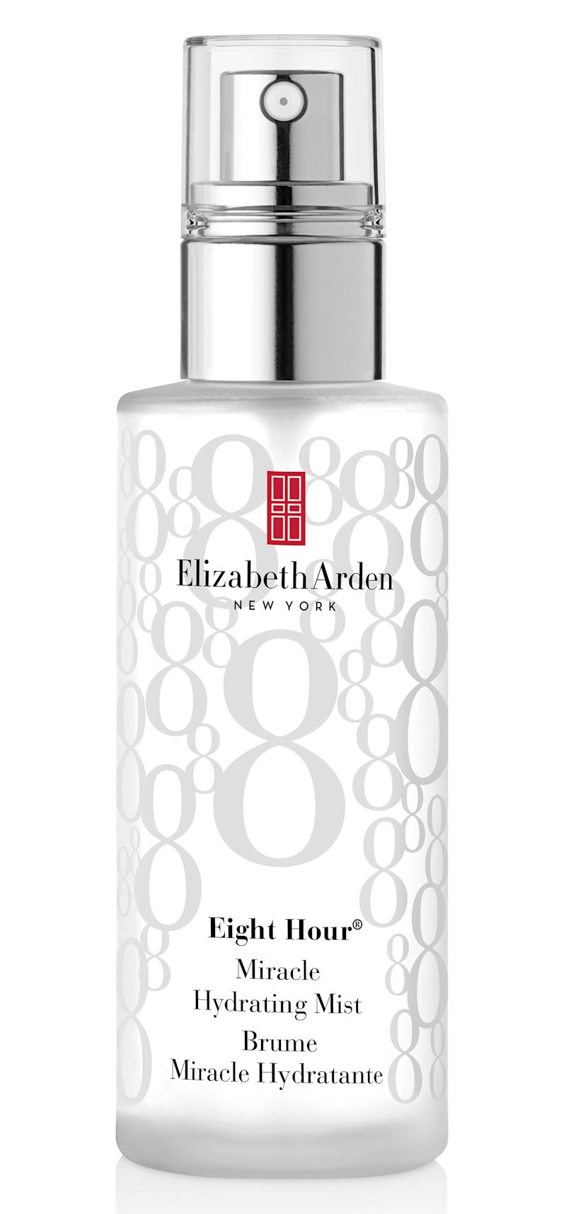 Elizabeth Arden Eight Hour Miracle Hydrating Mist.
