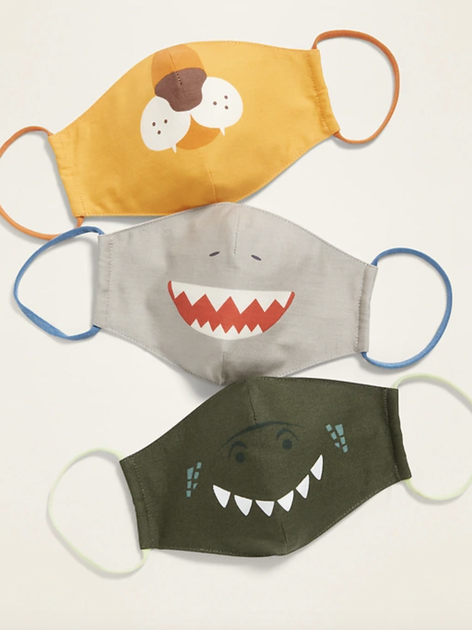 "Don't have time to grab a costume for your kid this year? Avoid a frenzied trip to Spirit and see if your favorite retailer's coronavirus masks can play double duty as Halloween costumes. $10, Old Navy. <a href=""https://oldnavy.gap.com/browse/product.do?pid=660547052&irgwc=1&clickid=Uxuz-pUM%3AxyOTbRwUx0Mo38XUkiVawTxwylhTQ0&ap=6&tid=onaff9017586&siteID=onafcid383278#pdp-page-content"" rel=""nofollow noopener"" target=""_blank"" data-ylk=""slk:Get it now!"" class=""link rapid-noclick-resp"">Get it now!</a>"