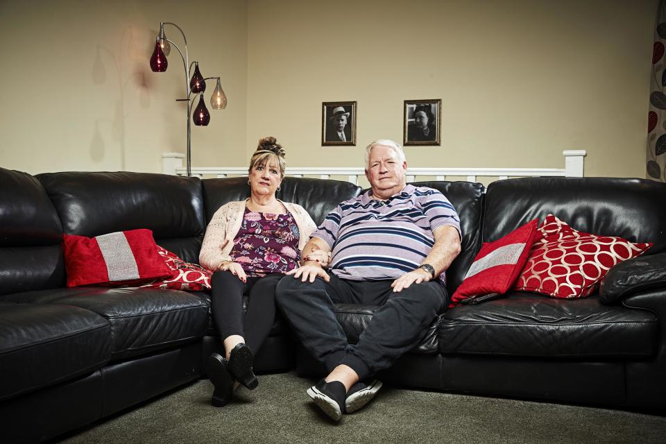 'Gogglebox' stars Linda and Pete McGarry. (Channel 4)