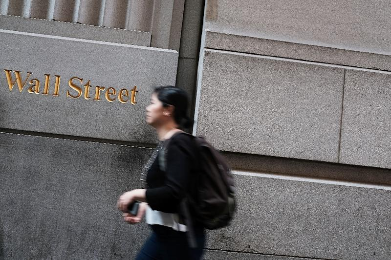 US markets ended up as energy and banking shares rose (AFP Photo/Spencer Platt)